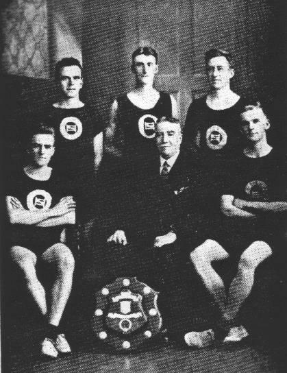 Winners of Bennett Memorial Road Race 1924